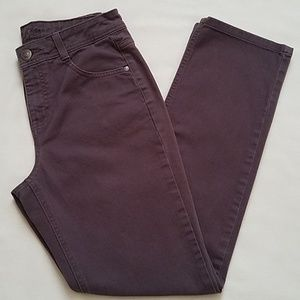 Charter Club Classic Brown Stretchy Jeans size 6